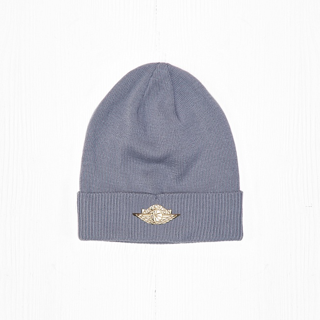 Шапка Jordan JUMPMAN BEANIE CUFF Light Grey