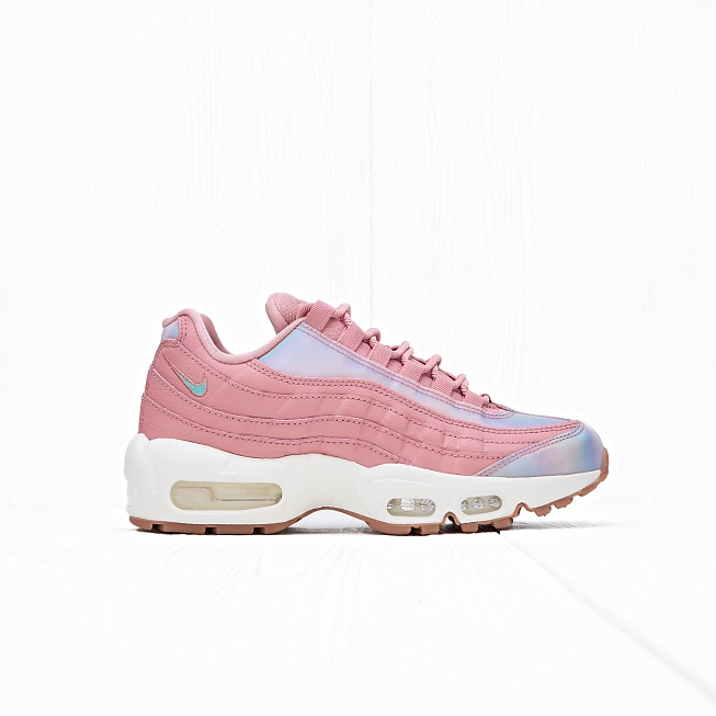 Кроссовки Nike W AIR MAX 95 SE Red Stardust/Washed Teal-Sail