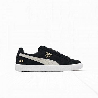 Кроссовки Puma x The Hundreds CLYDE Black/White