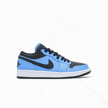 Кроссовки Jordan AIR JORDAN 1 LOW University Blue Black