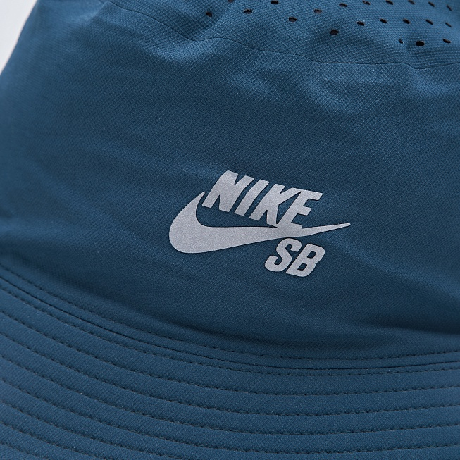 bd2a810f Панама Nike SB PERFORMANCE BUCKET Midnight Teal/Black цена, купить в ...