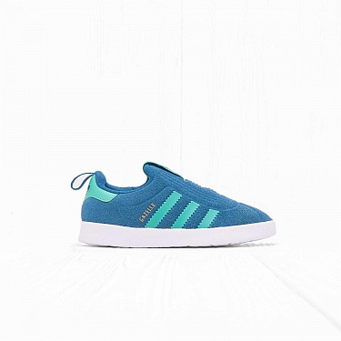 Кроссовки Adidas I GAZELLE 360 Real Teal S18/Hi-res Green S18/Ftwr White