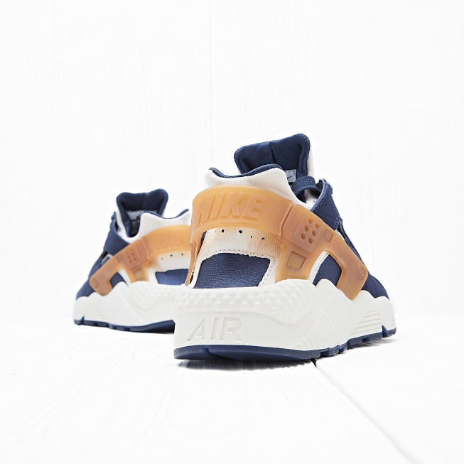 Кроссовки Nike AIR HUARACHE RUN Sail/Midnight Navy/Ale Brown - Фото 1