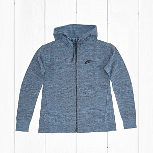 Толстовка Nike W TECH KNIT Dark Turquoise Heather/Black