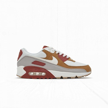 Кроссовки Nike AIR MAX 90 Rigged Orange/Sail Wheat-Gum Light Brown