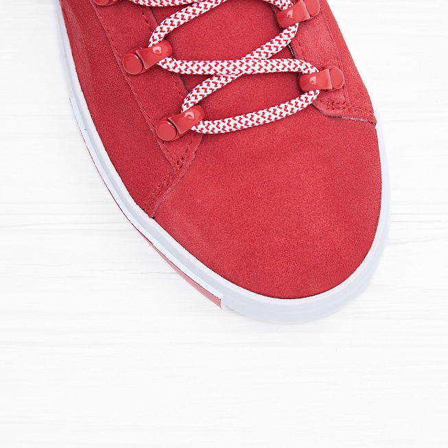 Кроссовки Puma x DP COURT PLATFORM S High Risk Red - Фото 4