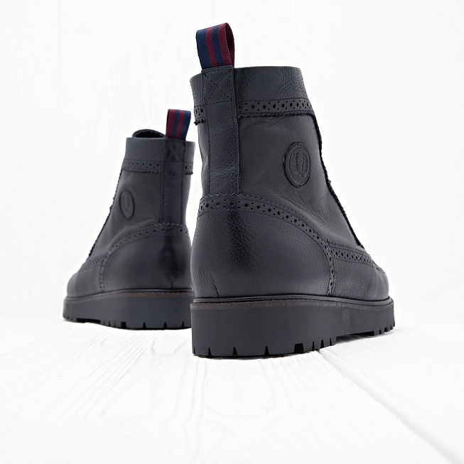 Ботинки Fred Perry NORTHGATE Black - Фото 1