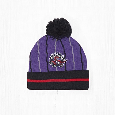 Шапка M&N NBA TORONTO RAPTORS Purple/Black