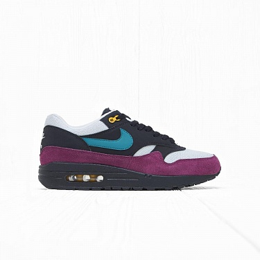 Кроссовки Nike W AIR MAX 1 Black/Geode Teal-Light Silver-Bordeaux