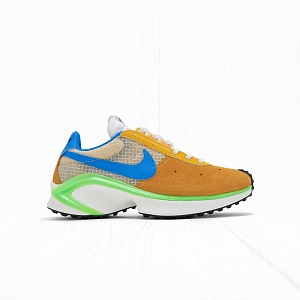 Кроссовки Nike D MS X WAFFLE Orange/Blue-Green