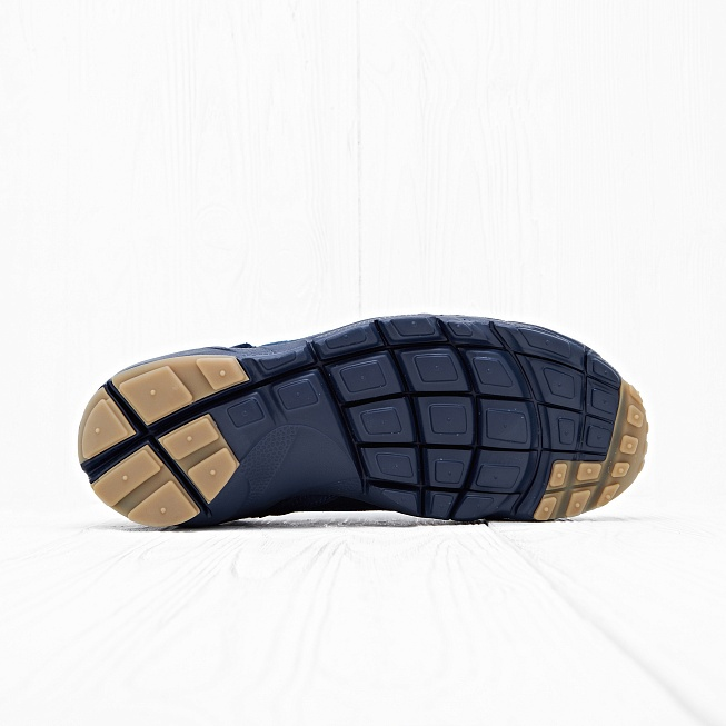 Кроссовки Nike AIR FOOTSCAPE NM PRM JCRD Dark Blue/Dark Blue - Фото 1