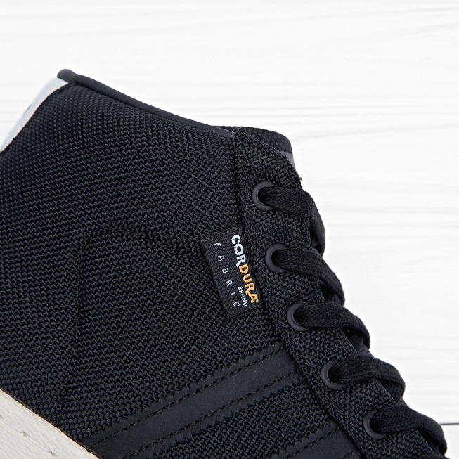 Кроссовки Adidas PRO MODEL 80S CORDURA Ftwr White/Core Black/Unity Orange F16 - Фото 4