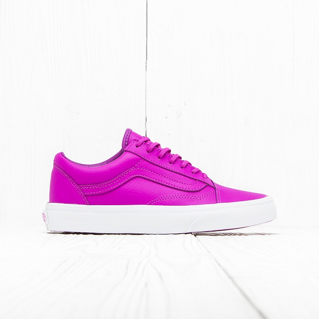 Кеды Vans OLD SKOOL Neon Purple White цена 30d0a0ed9cda7