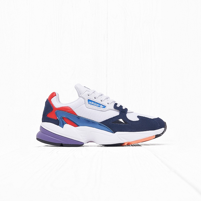 Кроссовки Adidas W FALCON Crystal White Collegiate Navy