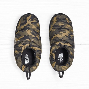 Тапочки The North Face TENT MULE III New Brown Black Camo