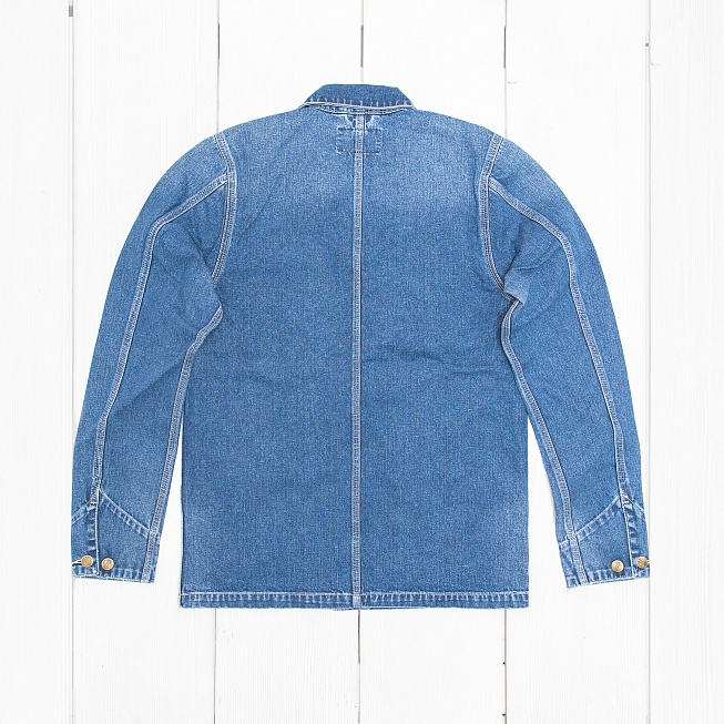 Куртка Carhartt MICHIGAN Blue True Stone - Фото 1