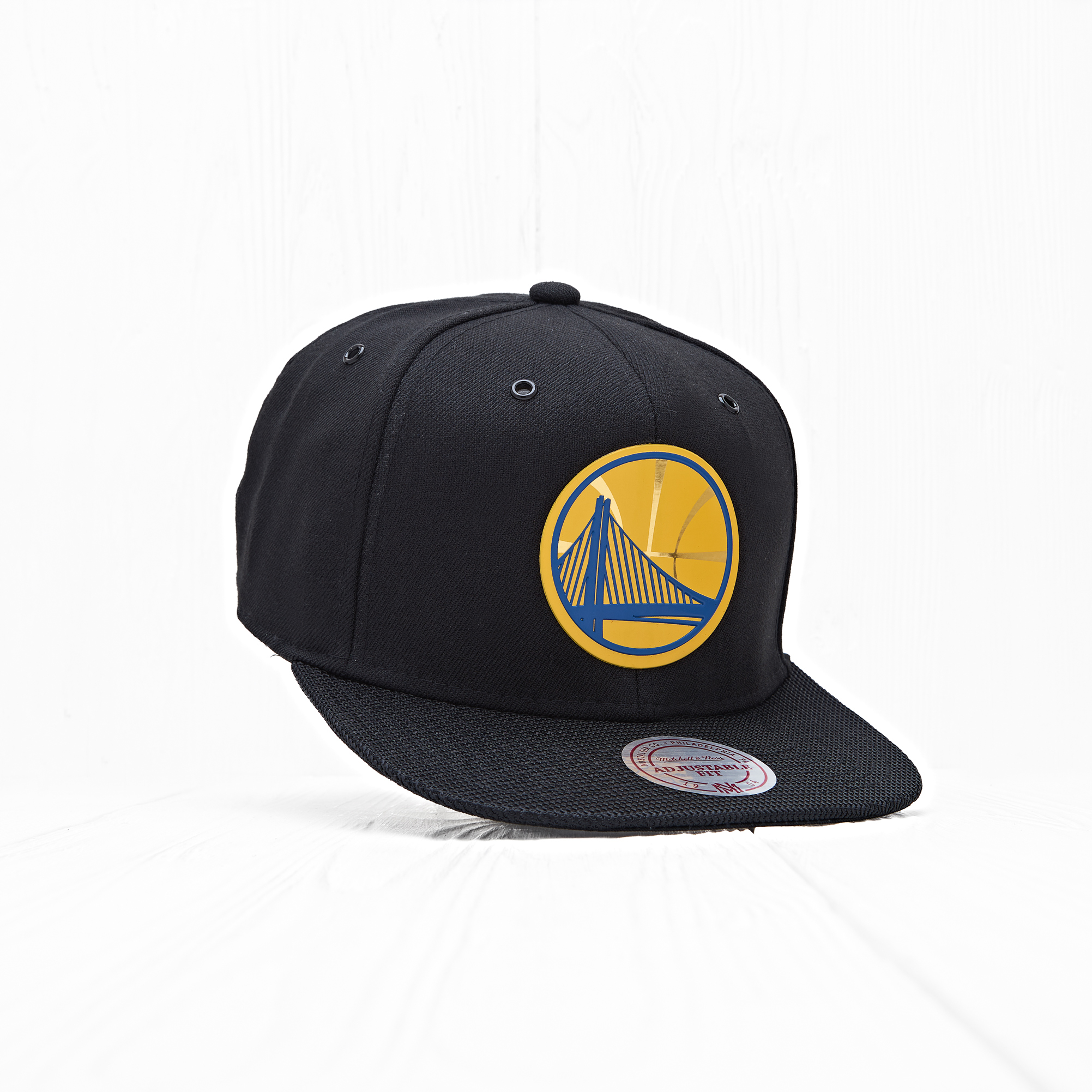 Снепбек Mitchell & Ness NBA GS WARRIORS Carat Black