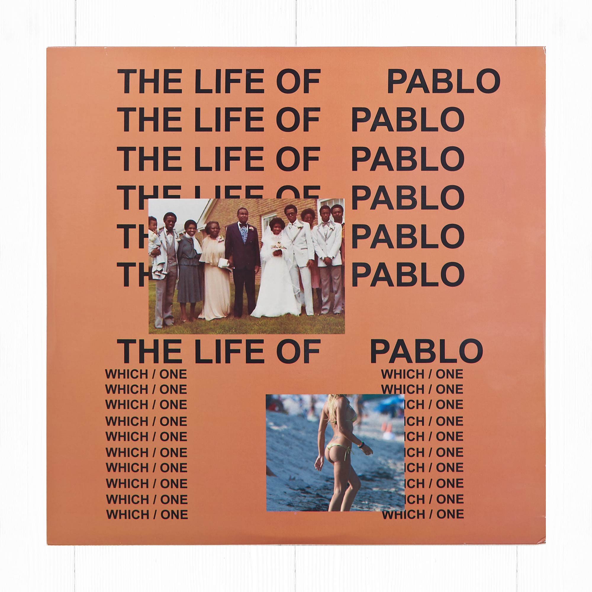 KANYE WEST - THE LIFE OF PABLO (R&B. TRAP)