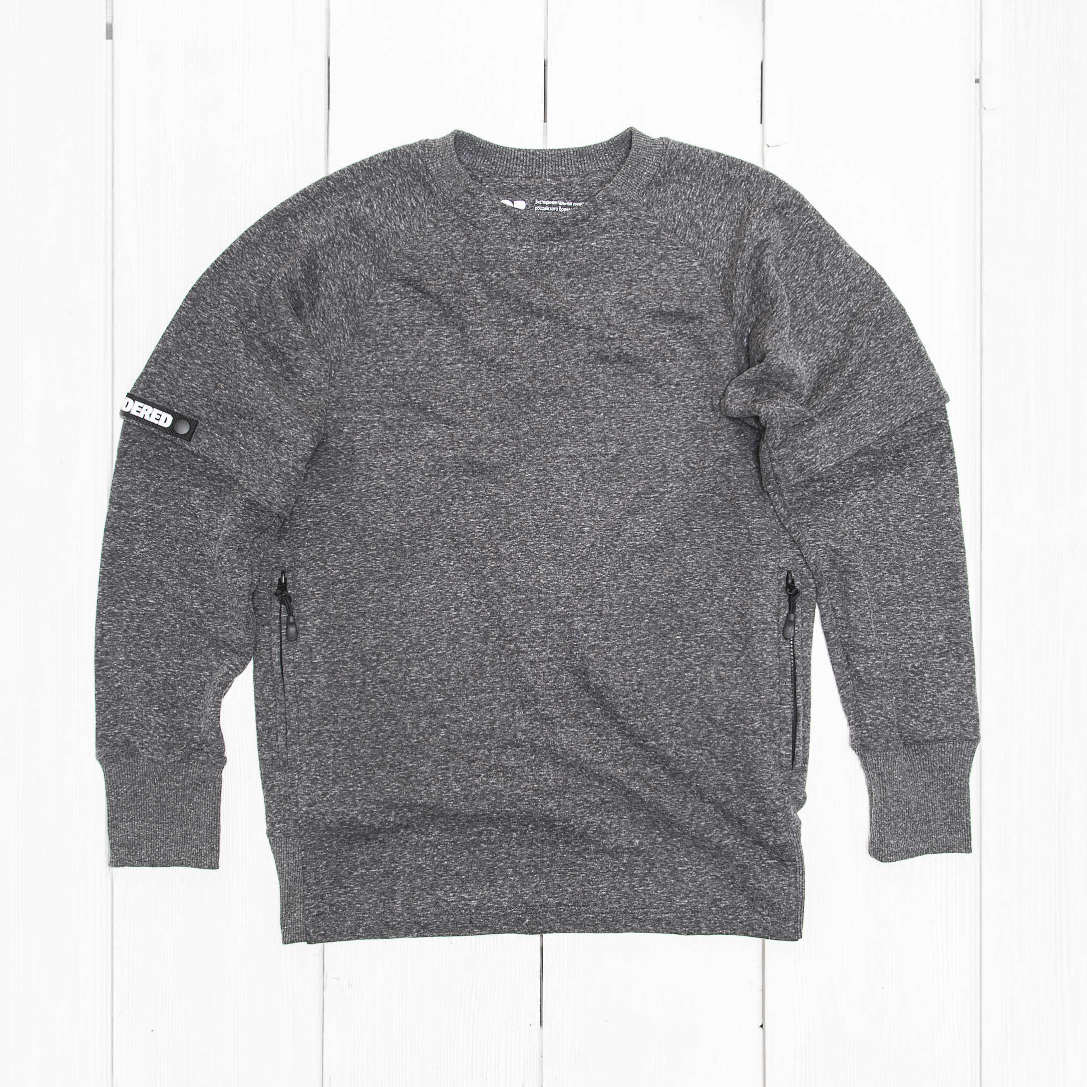 Свитшот Codered T-CREW COR Dark Grey Melange