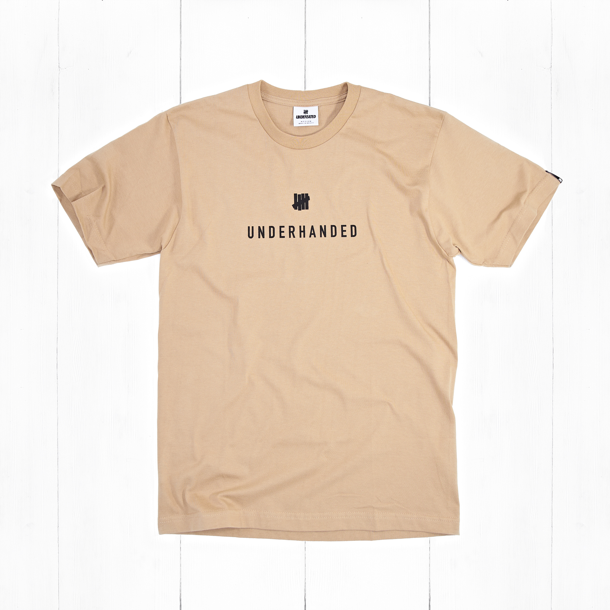 Футболка Undefeated UNDERHANDED Tan