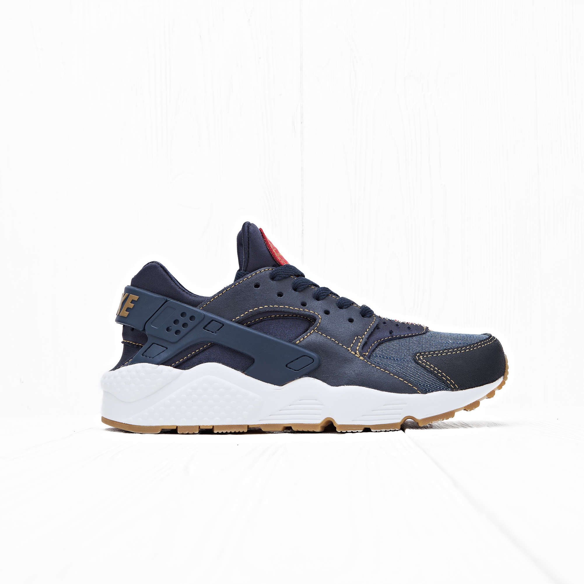 Кроссовки Nike AIR HUARACHE RUN SE Dark Obsidian/Dark Obsidian-Summit White