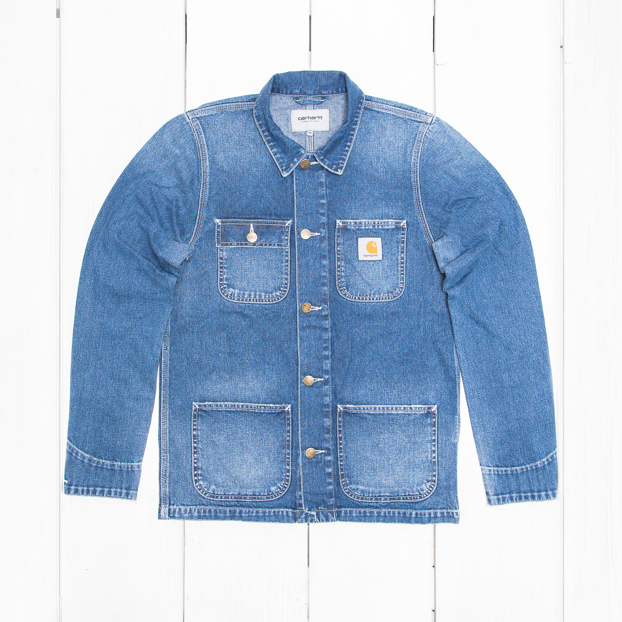 Куртка Carhartt MICHIGAN Blue True Stone