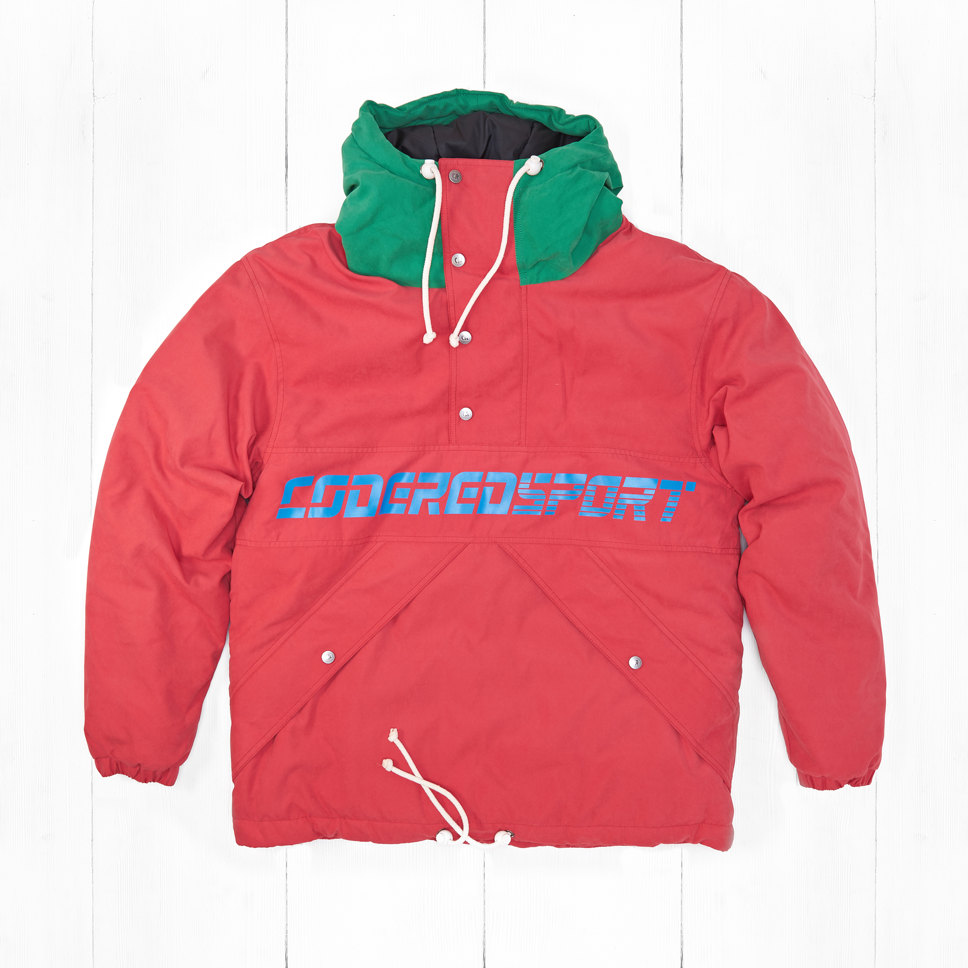 Анорак CodeRed Sport SUPERBLASTER 2 Red Vintage/Light Geen
