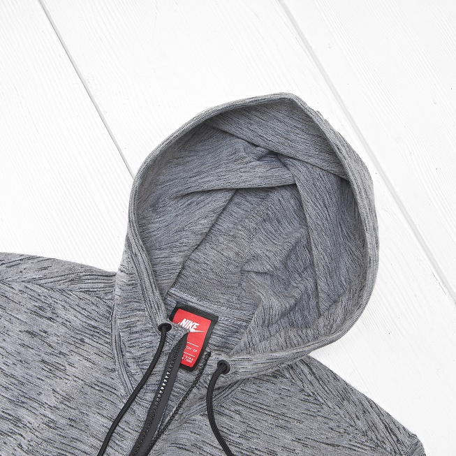 Толстовка Nike W TECH KNIT Carbon Heather/Black