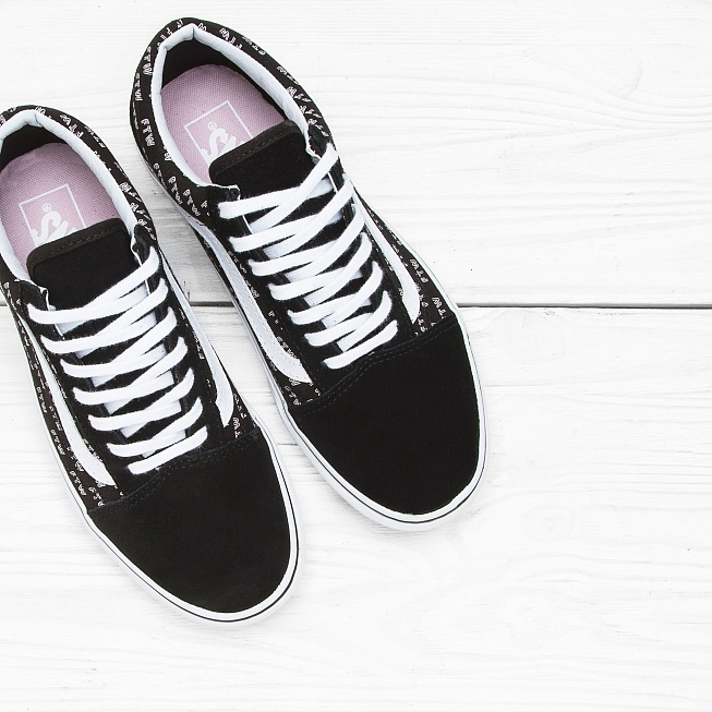 Кеды Vans OLD SKOOL (SAYINGS) Black Ftw - Фото 3